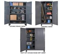 12 GAUGE HEAVY DUTY STORAGE CABINETS